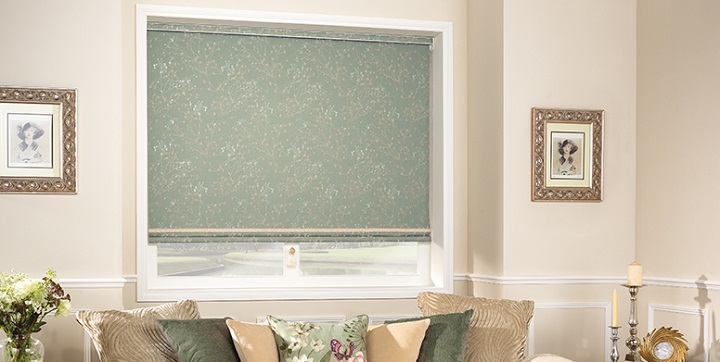 collina lily pad roller blind