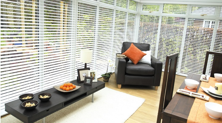 Aluminium and Wood Venetian Blinds at create-a-blind