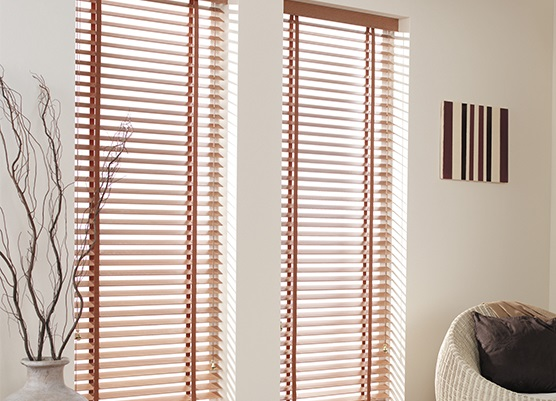 Wooden Venetian Blinds Made To Measure