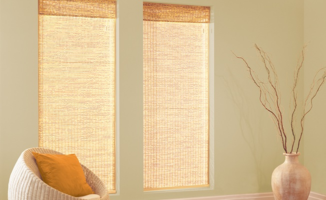 Woodweave Roman Blinds Made To Measure