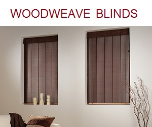 Woodweave Roman Blinds